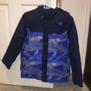 Boys Size Large Blue Winter Ski Jacket